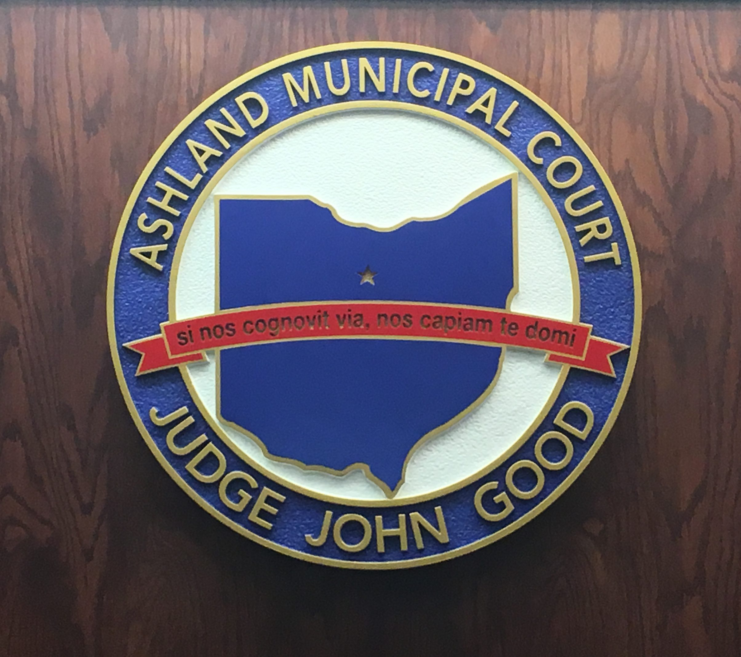 Ashland Municipal Court Seal